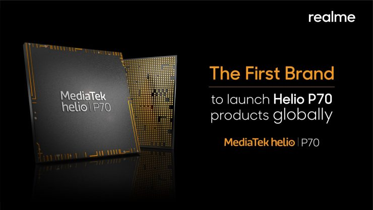 Realme will be the first to launch Helio P70-powered phone globally 1