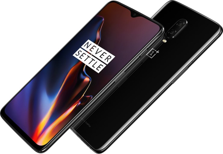 OnePlus 6T launched with in-screen fingerprint scanner & waterdrop notch 2