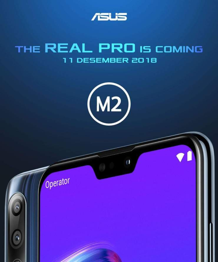 Asus Zenfone Max Pro M2 press render reveals a notch & dual rear cameras 1