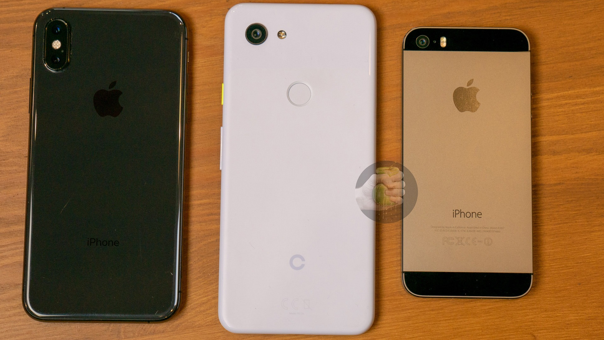 Here's how Google Pixel 3 Lite compares to other phones in terms of size 2
