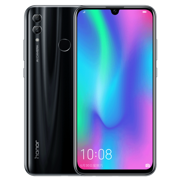Honor 10 Lite in Midnight Black