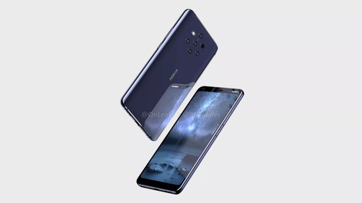 Nokia 9 CAD renders confirm a Penta Lens setup on the rear 2