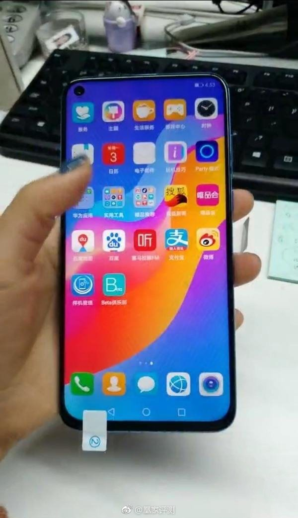 Huawei Nova 4 with display hole shows up in hands-on images 4