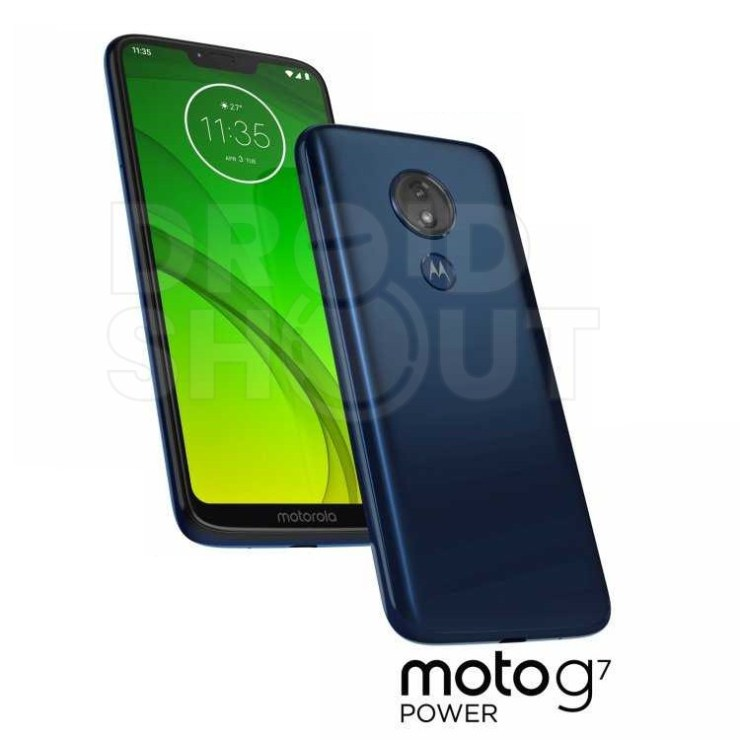 Whole Moto G7 family leaks in official press renders - Play, Plus and Power 3