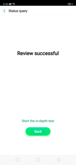 Review Successful