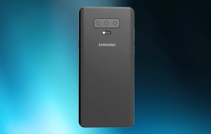 Samsung Galaxy S10 with in-display front camera shows up in the wild 1