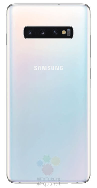 Here are the official press renders of the Samsung Galaxy S10 & S10+ 16