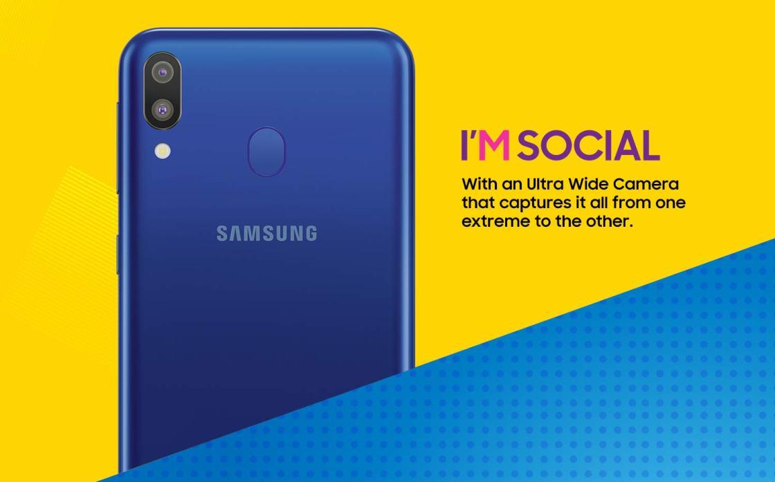 Samsung Galaxy M10 and M20