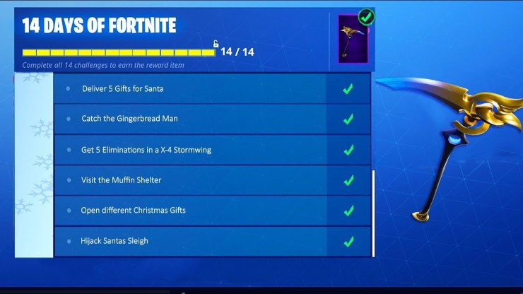 The '14 Days Of Fortnite' is Back: Here's How You Can Solve All 14 Challenges 2