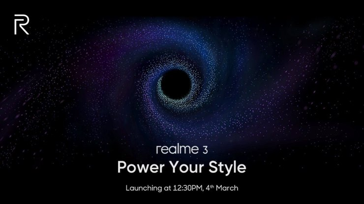 [UPDATE] Realme 3 will have MediaTek Helio P70 SoC, launch on March 4 1