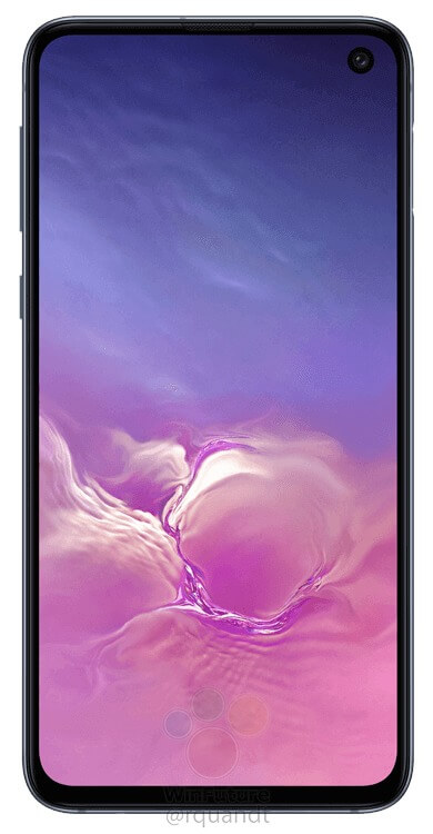 This is the Samsung Galaxy S10E - Samsung's reply to the iPhone XR 4