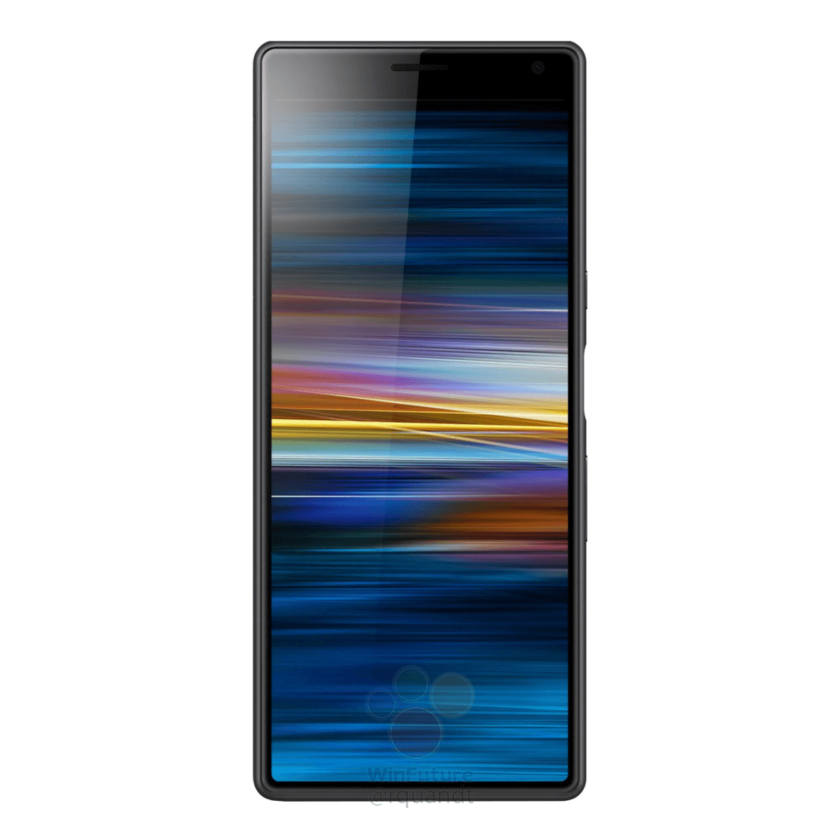 Press Renders: This is the Sony Xperia XA3 with that long 21:9 display 2