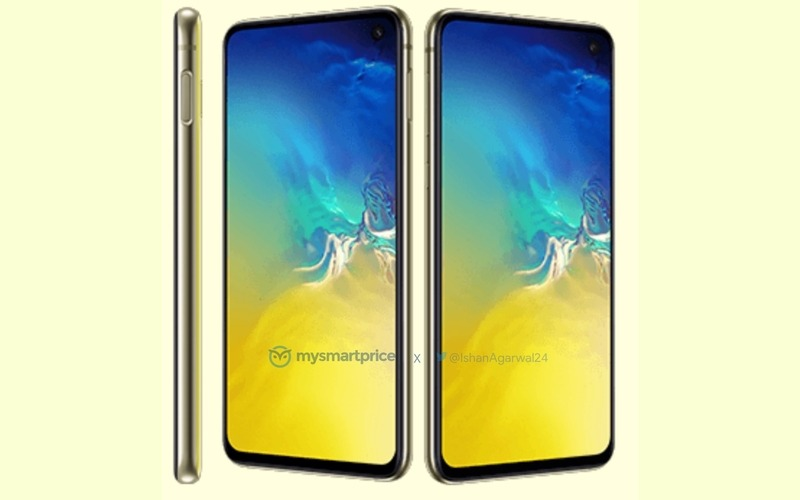 Samsung Galaxy S10e in Canary Yellow