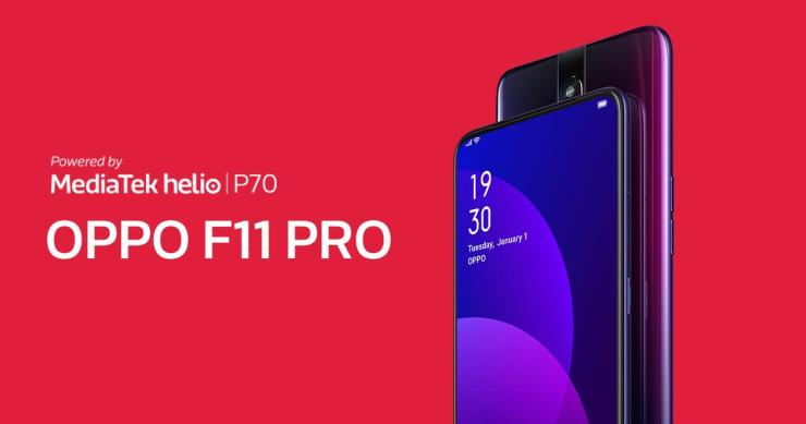 Oppo F11 Pro with pop-up selfie camera & Helio P70 launched in India 4