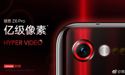 Wait, What? Lenovo Z6 Pro might feature a 100MP camera 21