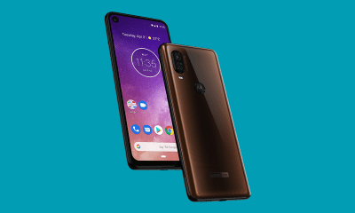 Motorola One Vision press render leaks, hole-punch display confirmed 1