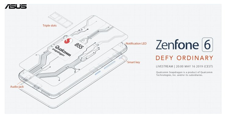 Asus Zenfone 6 has a 5,000mAH battery, 48MP camera & headphone jack 1
