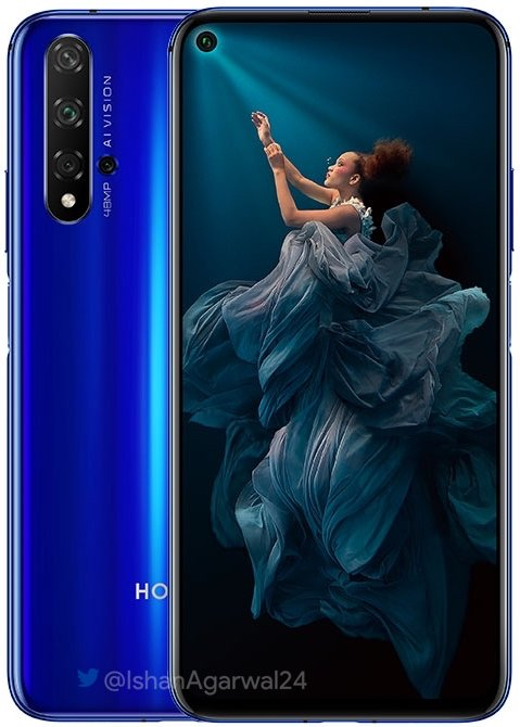 Honor 20 Official Render 3