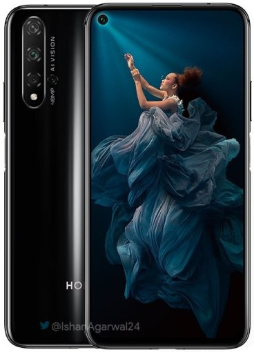 Honor 20 Official Render 4