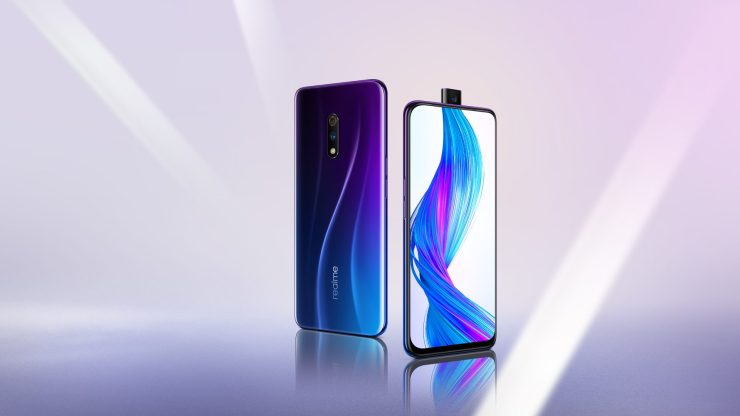 Realme X official with Snapdragon 710 & pop-up selfie camera 1