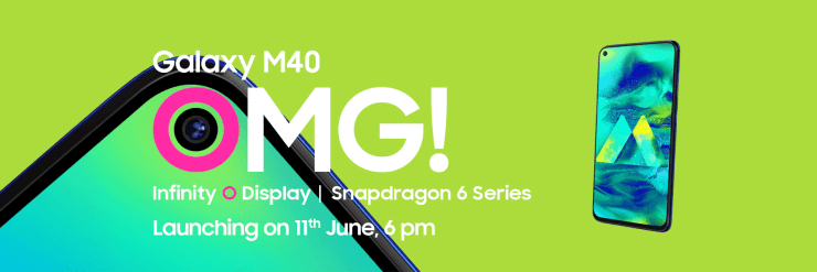 Samsung Galaxy M40 launching on June 11th in India 4