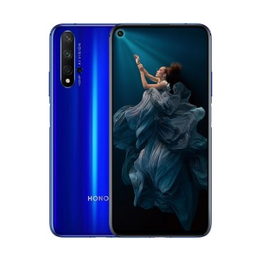 Honor 20 in Sapphire Blue