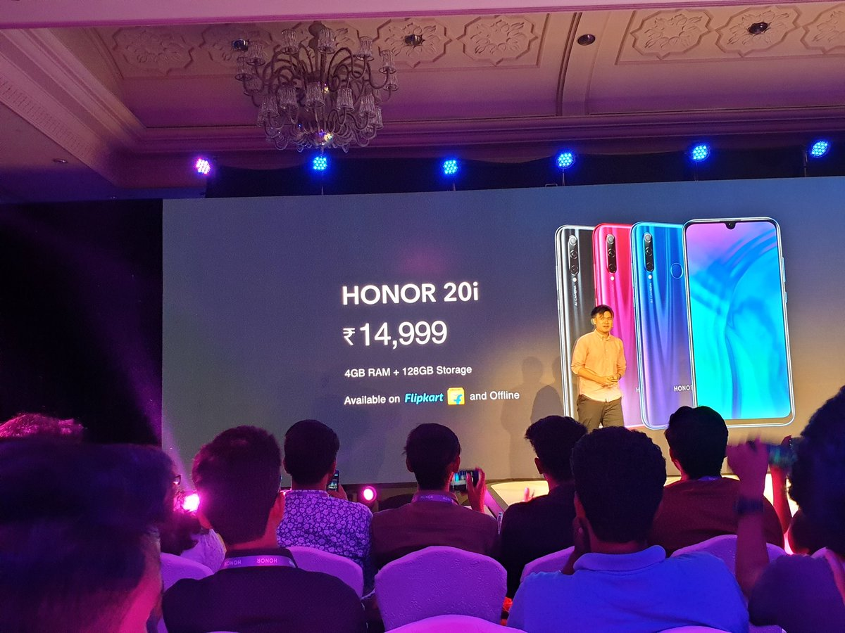 Honor 20, Honor 20 Pro & Honor 20i launched in India 10