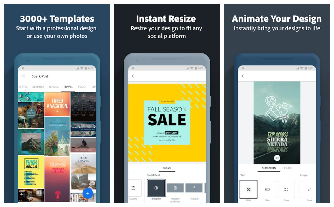 Adobe Spark Post Free Instagram Story Templates