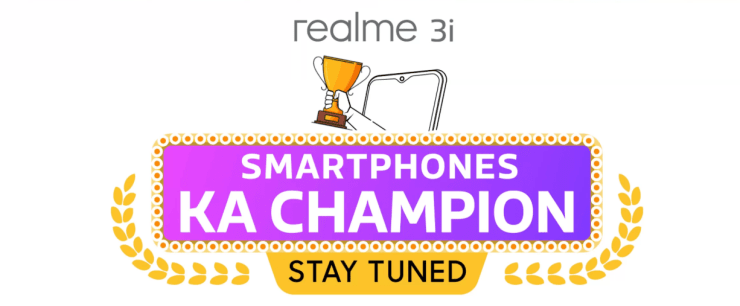 Realme 3i launching in India soon