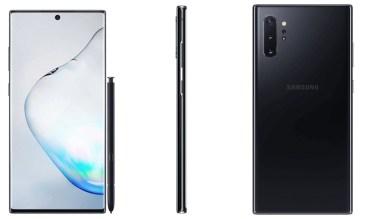 Samsung Galaxy Note 10 Plus Press Render 2