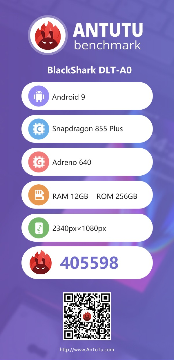 Xiaomi Black Shark 2 AnTuTu Benchmark