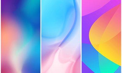 Xiaomi CC9 Stock Wallpapers
