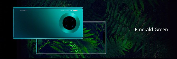 Huawei Mate 30 Pro in Emerald Green