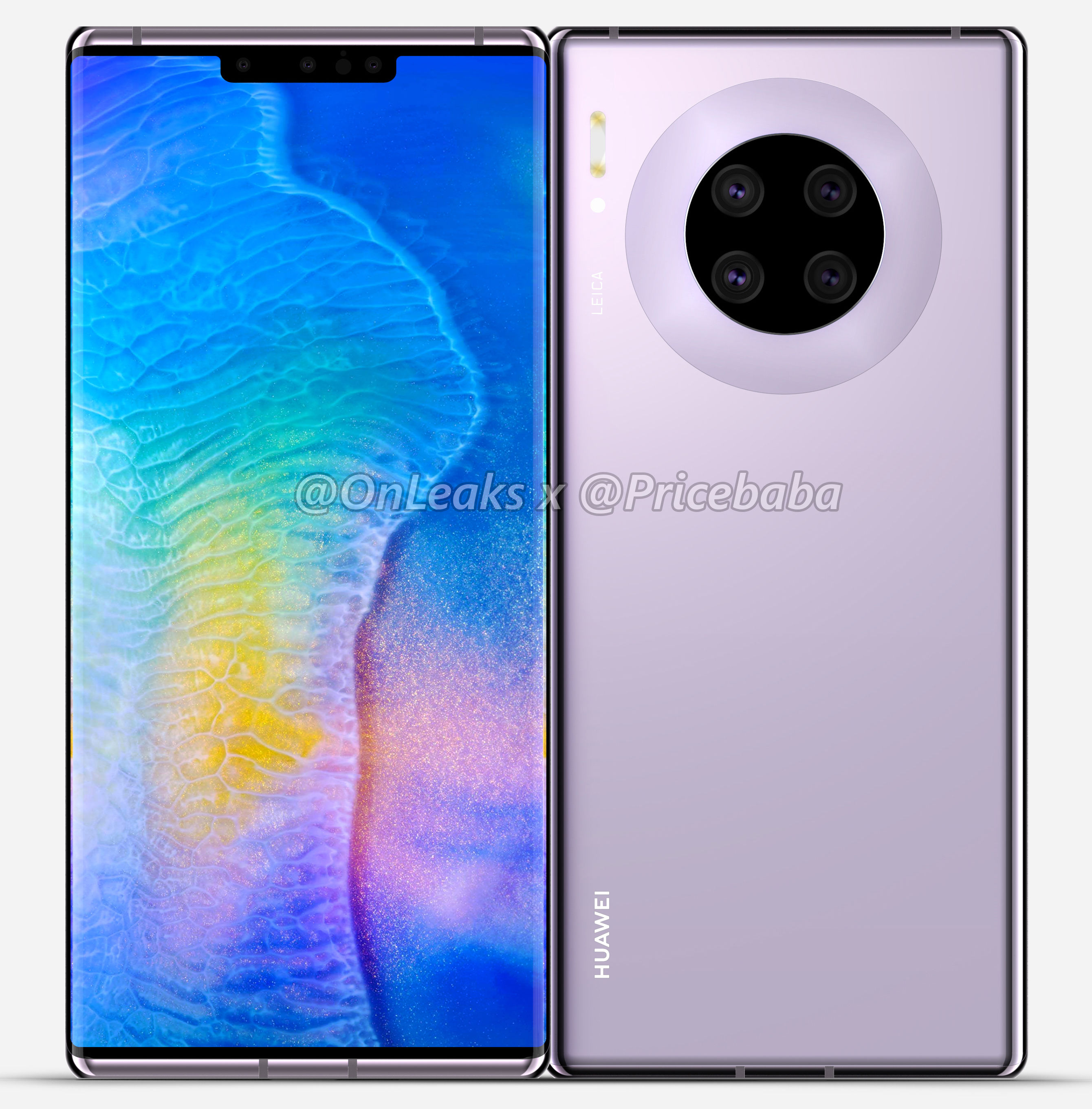 Huawei Mate 30 Pro renders and key details leaked