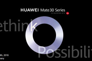 Huawei Mate 30 Series Launch Date