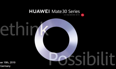 Huawei Mate 30 Series Launch Date