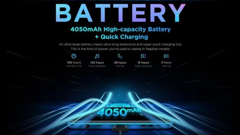 Lenovo K10 Plus Battery
