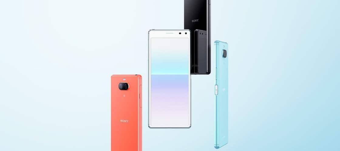 Sony Xperia 8 Design