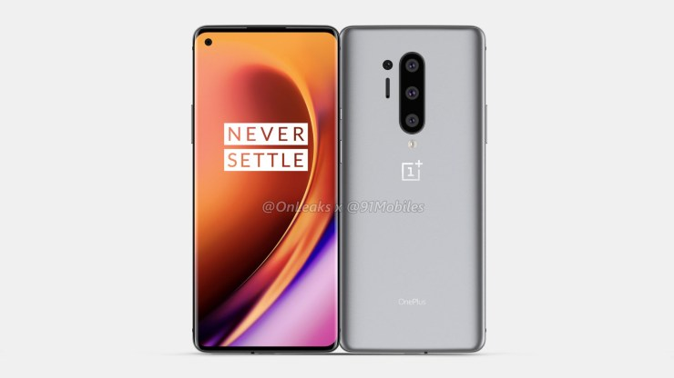 This is the OnePlus 8 Pro