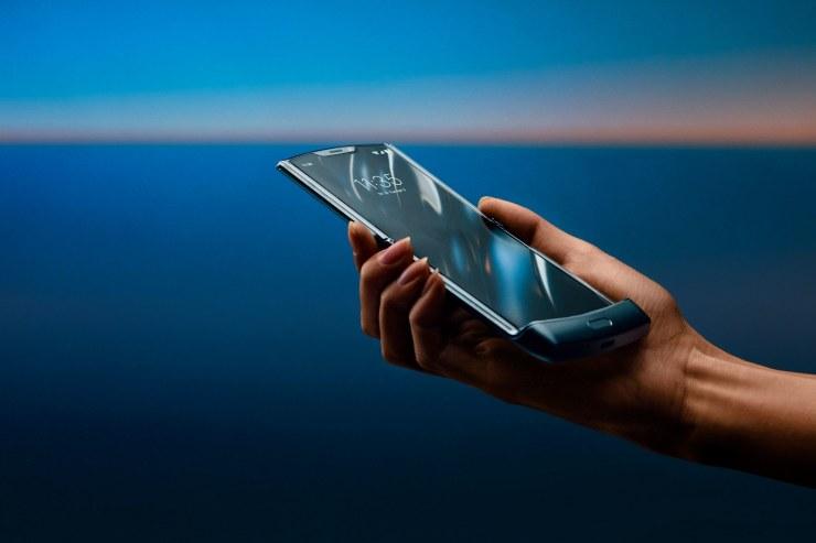 Foldable Motorola Razr