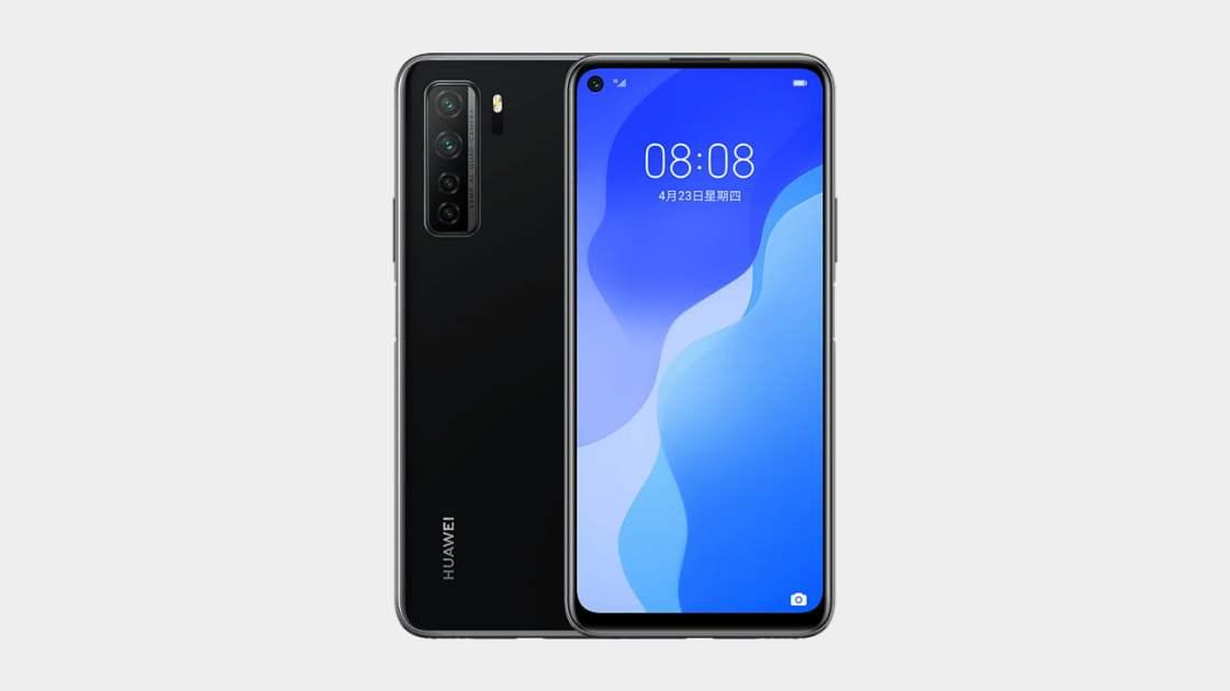 Huawei Nova 7 SE in Black Color