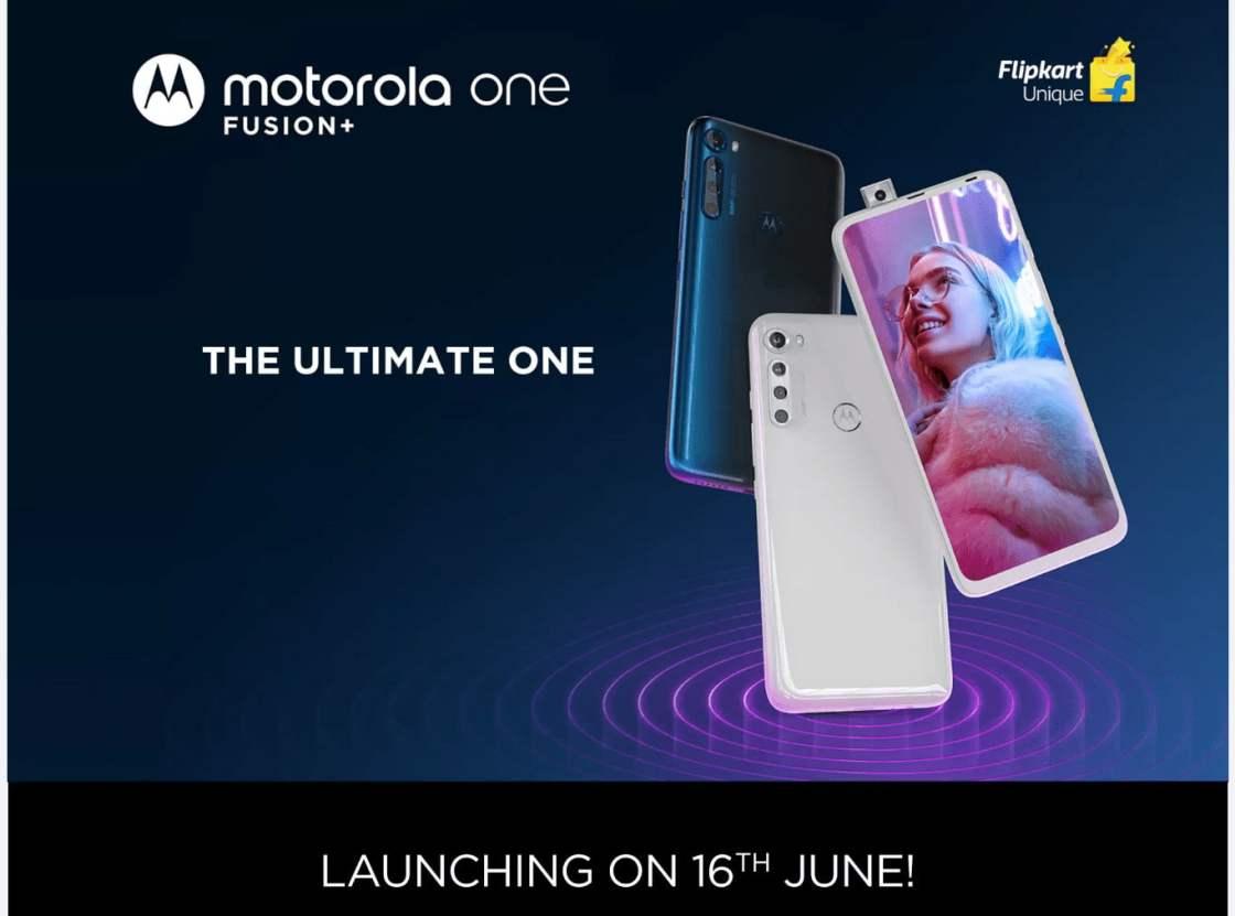 Motorola One Fusion+ Launch in India