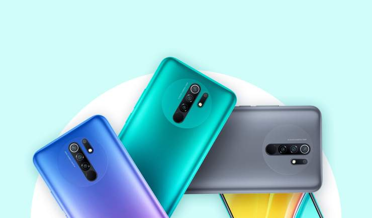 Redmi 9 Colors