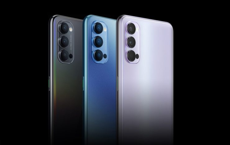 Oppo Reno 4 Colors