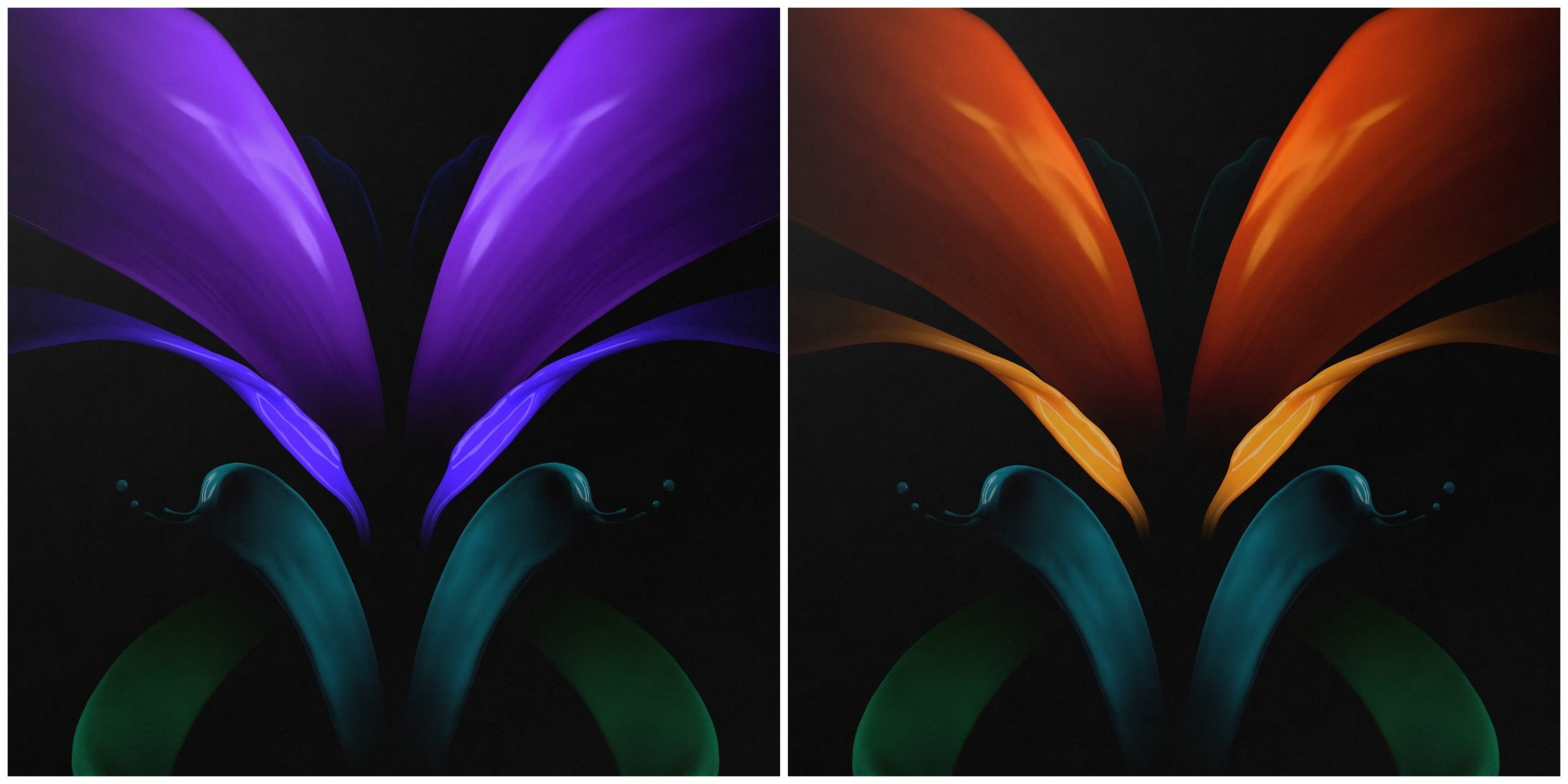 Download Samsung Galaxy Z Fold 2 Stock Wallpapers