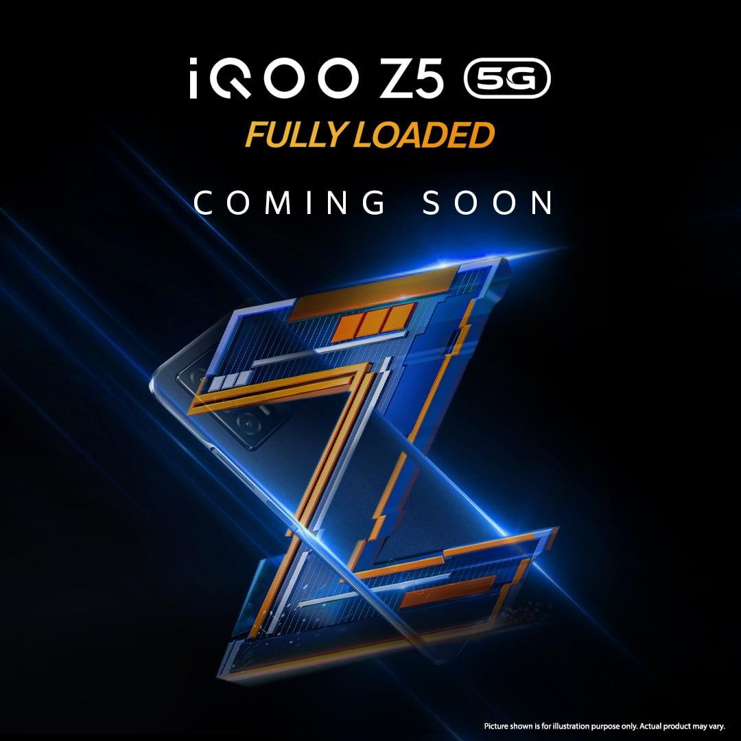 iQOO Z5 Teaser
