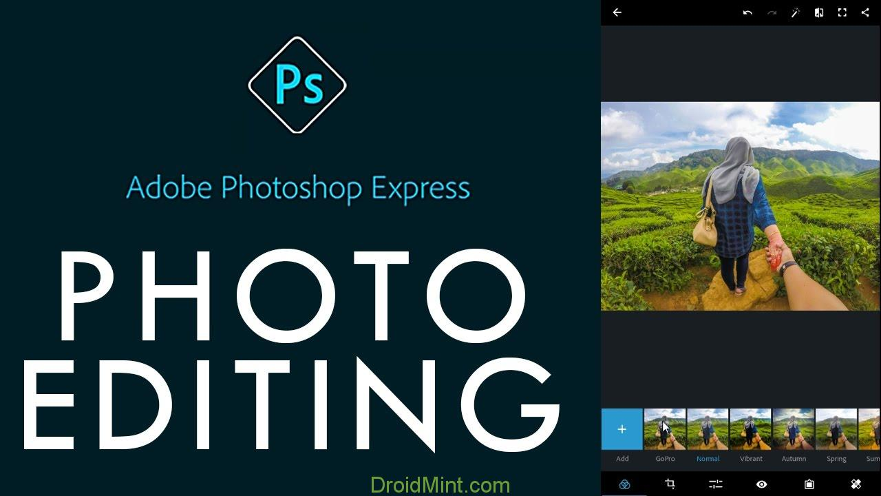 Adobe Photoshop Express Premium 5.1.11 Apk Full Unlocked Free Download