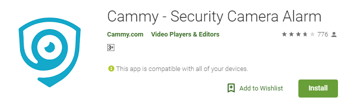 Cammy Security Camera PC Download