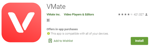 VMate Download for PC
