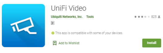 UniFi Video PC